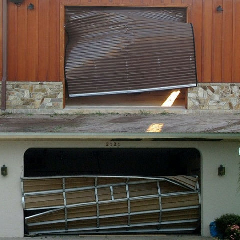 Garage Door Really Safe in a Storm