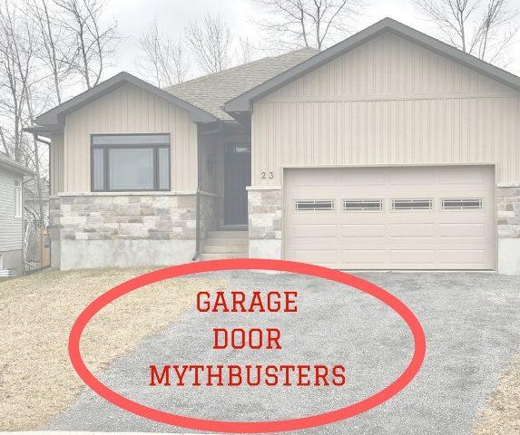 Garage Door Myths