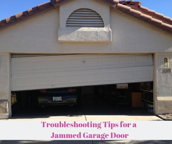 Troubleshooting Tips for a Garage Door Jammed