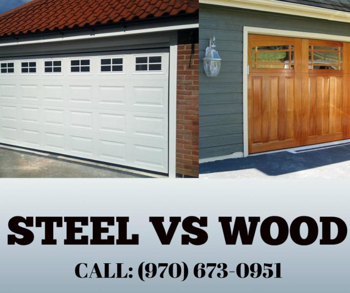 Steel or Wood Garage Doors