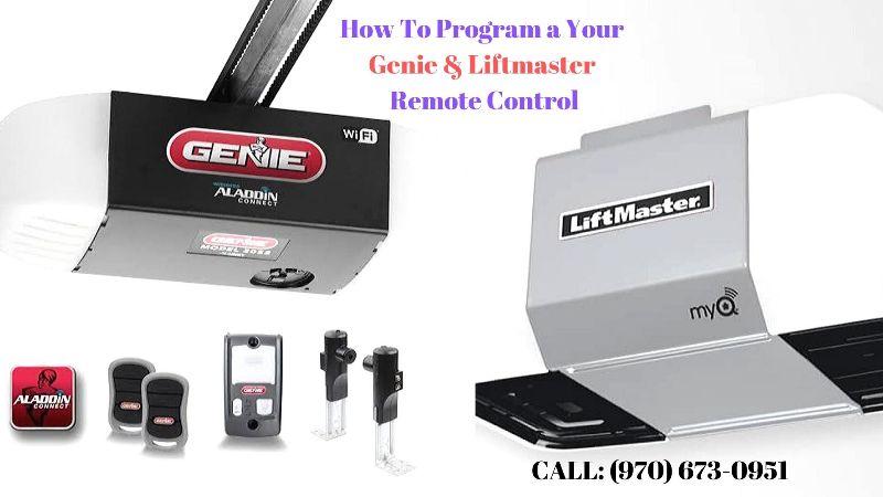 Liftmaster & Genie Garage Door Opener Remote