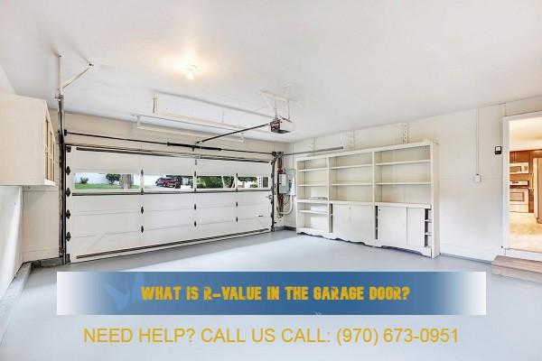 R-value of the garage door